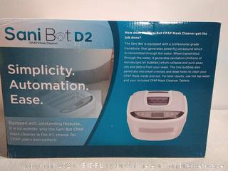 Sani Bot D2 CPAP Mask Sanitizer Cleaning Machine (online $159)