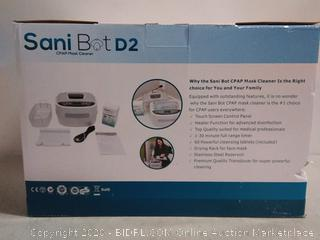 Sani Bot D2 CPAP Mask Sanitizer Cleaning Machine (online $159)