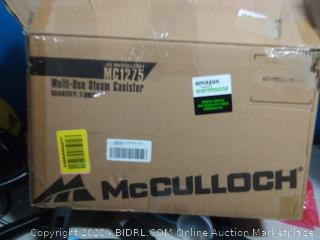 McCulloch MC1275 Heavy-Duty Steam Cleaner with 18 Accessories(powers on) online $139