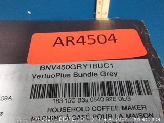 Breville Nespresso vertuo plus bundle(powers on) online $156)