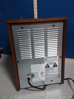 Duraflame 5,200-BTU Infrared Quartz Cabinet Electric Space Heater with Thermostat (powers on) online $132