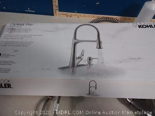 Kohler Lilyfield Vibrant Stainless 1-Handle Pull-Down Kitchen Faucet R27459-SD-VS  (previously owned) online $239