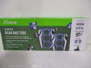 3 Hole Bean Bag Toss Game