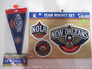 Decals And Pennant Flag