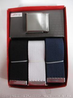 Golf 3 Pack Web Belt