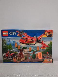 LEGO City Fire Plane 60217 Building Kit, 2019 (363 Pieces) online $48