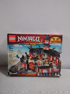 LEGO NINJAGO Legacy Monastery of Spinjitzu 70670 Building Kit, 2019 (1070 Pieces) Factory sealed (online $70)