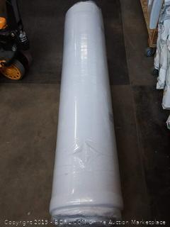 QUEEN - LUCID size 5 Inch Gel Memory Foam Mattress - Dual-Layered - CertiPUR-US Certified - Firm Feel