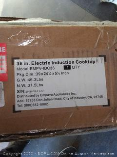 $699 empava 36 inch electric induction cooktop EMPV-IDC36