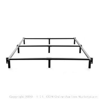 King Size Metal Bed Frame-7 Inch Heavy Duty Bedframe (online $89)