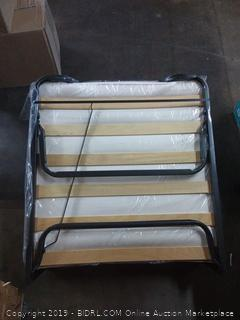 Linon Home Dcor 352STD-01-AS-UPS Luxor Memory Foam Folding Bed Mattress, Twin, Beige