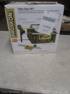 Table Saw FET ($402.69 Retail)