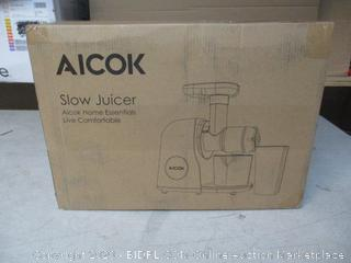 Aicok Slow Juicer (See Pictures)