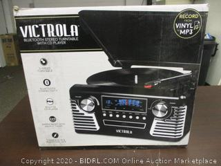 Victrola Bluetooth Stereo Turntable With CD Player
