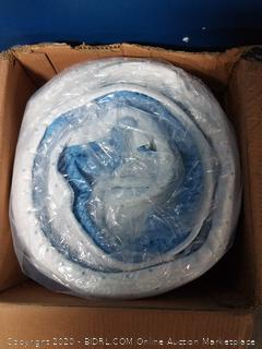 viscosoft 3 inch high density gel memory foam mattress topper twin XL (online $124)