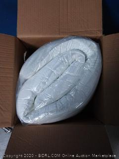 Fairyland 3 inch memory foam mattress topper Queen (online $149)