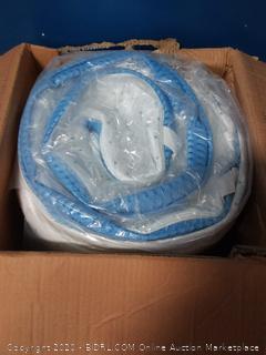 3 inch high density gel memory foam mattress topper twin