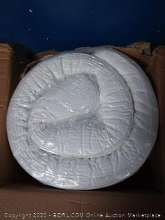Fairyland 3 inch memory foam mattress topper king (online $129)