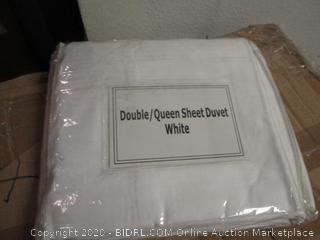 Double/Queen Sheet Duvet