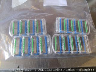 Gillette Mach 3 Turbo Replacement Razor Heads / Cartridges