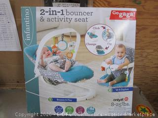 Infantino 2 in 1 bouncer & Activity Seat