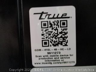 """True Glass Door Merchandiser 47""""x47""""x21"""""""