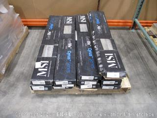 MSI VTRMEZCLA7X48-5MM-12MIL Flooring Lot