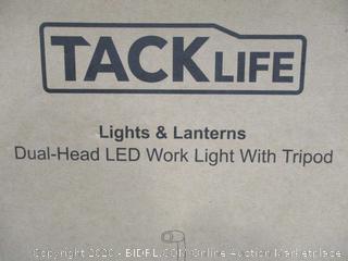 Tack Life Dual Head LED Work Light With Tripod