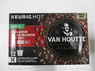 Keurig Hot Van Houtte K Cups Lot