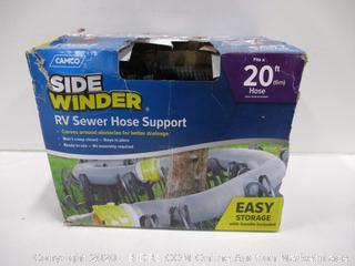 Sidewinder RV Sewer Hose Support