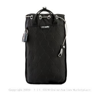 Pacsafe Travelsafe 12L GII Portable safe black NEW (online $84)