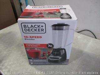 Black + decker  Blender damaged