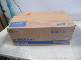 enMotion 8 inch 1-Ply Recycled roll towel