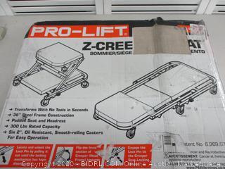 Pro Lift Auto Creeper