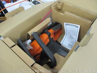 Black + Decker electric chain saw