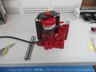 Big Red 20 ton hydraulic jack