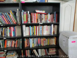 Book Shelf and Contents (Book shelf on the Right)
