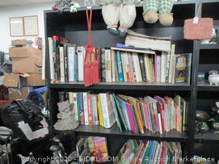 Book Shelf and Contents (Book shelf on the left)