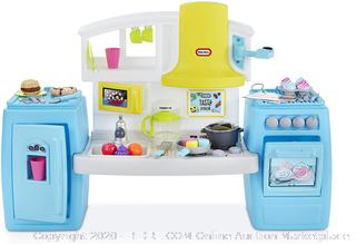 Little Tikes Tasty Jr. Bake 'n Share Play Kitchen with 40+ Piece(Factory Sealed) COME PREVIEW!!!!! (online $69)