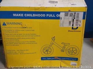 Diwenhouse Balance Bike blue