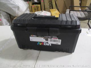 ArtBin- Twin Top Storage Box w/ Lift Out Tray