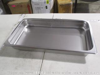 """Winco- Steam Table Pan -Full Size- 20 3/4"""" x  12 3/4"""" ( dented, please see picture)"""