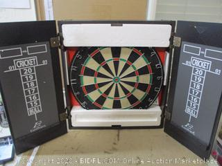 EastPoint Sports - Belmont Bristle Dartboard and Cabinet Set With Darts (See Pictures)