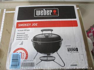 Webbery - 14in Smokey Joe Charcoal Barbecue Grill