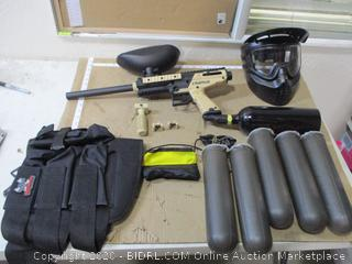 Tippmann Cronus Paintball Marker Gun Player Package ($167 Retail)