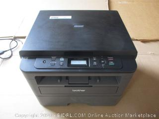 Brother - HLL2390DW Compact Monochrome Laser Printer (Powers On)