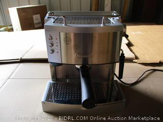 DeLonghi - 15-Bar-Pump Espresso Maker, Stainless (Powers On)