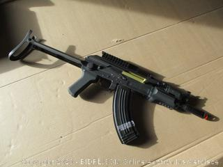 Game Face GF76 AKSU Pattern Carbine Airsoft Rifle with Folding Stock and Select Fire