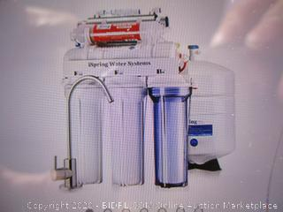Spring RCC7AK-UV 7-Stage Under-Sink Reverse Osmosis Drinking Water Filtration System with UV Sterilizer