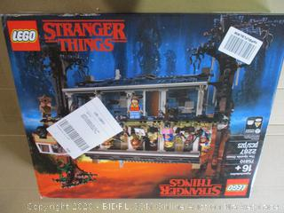 LEGO Stranger Things The Upside Down 75810 Building Kit (Factory Sealed, $299 Retail)
